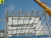 Trapezoidal roof sheets (roof) assembly